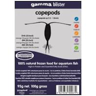 Gamma Frozen Food blister packs Copepods 100g