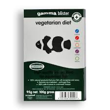 Gamma Frozen Food blister packs Vegetarian 100g