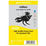 Gamma Frozen Food blister packs Rotifers 100g