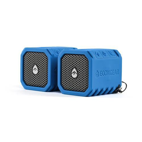 EcoxGear EcoDuo Bluetooth Speaker - 2 Pack - EcoXGear