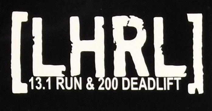 Distance & Deadlift Transfer/Bumper Sticker ***NUMEROUS VARIATIONS** - Lift Heavy Run Long - 5