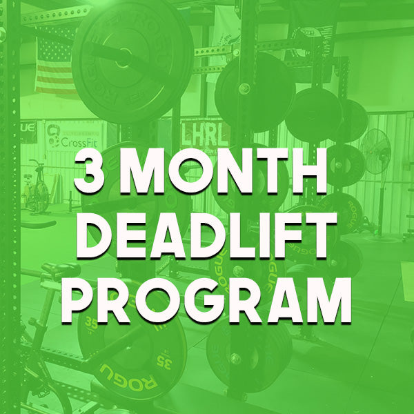 3 Month Deadlift Program