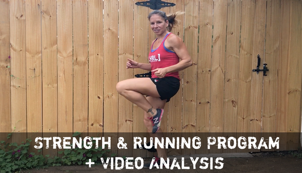 LHRx 4 Week Strength & Running Program + Video Analysis