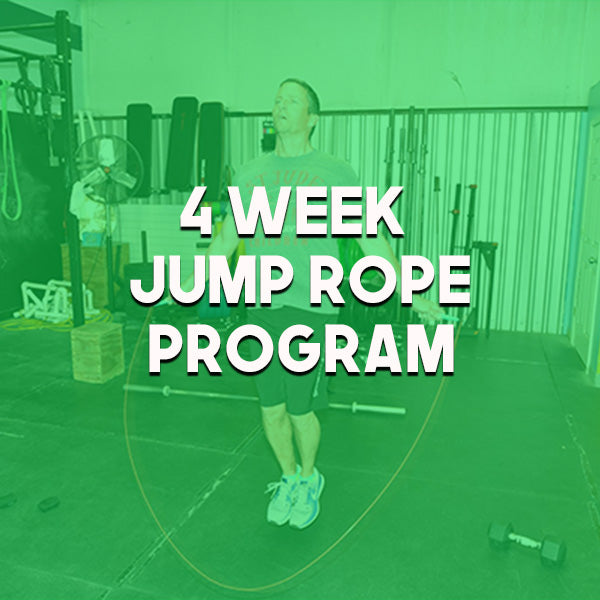 4-Week Jump Rope Program