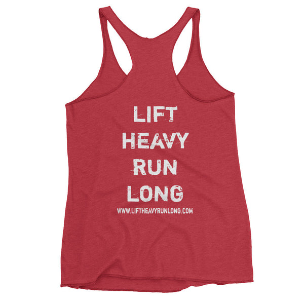 13.1mile/300Deadlift w FRONT & BACK PRINT - Lift Heavy Run Long - 21