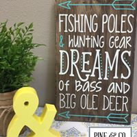 Fishing Poles & Hunting Gear