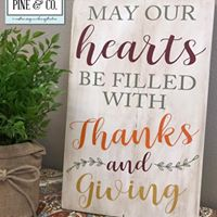 May Our Hearts be Filled with Thanks and Giving