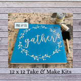 12 x 12 Take & Make Kit