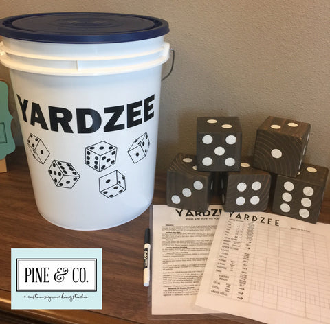 Yardzee Jumbo Dice Game