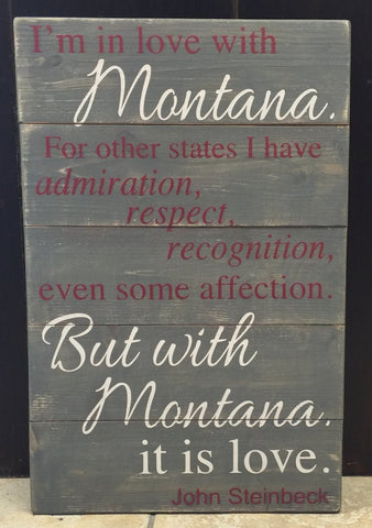 I'm in Love with Montana