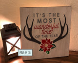 Most Wonderful Time w/Antlers