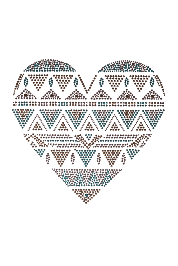 Aztec Heart - Large
