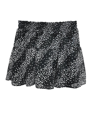 Tiered Skirt - Black/White