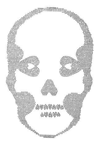 Basic Skull Dark - Large