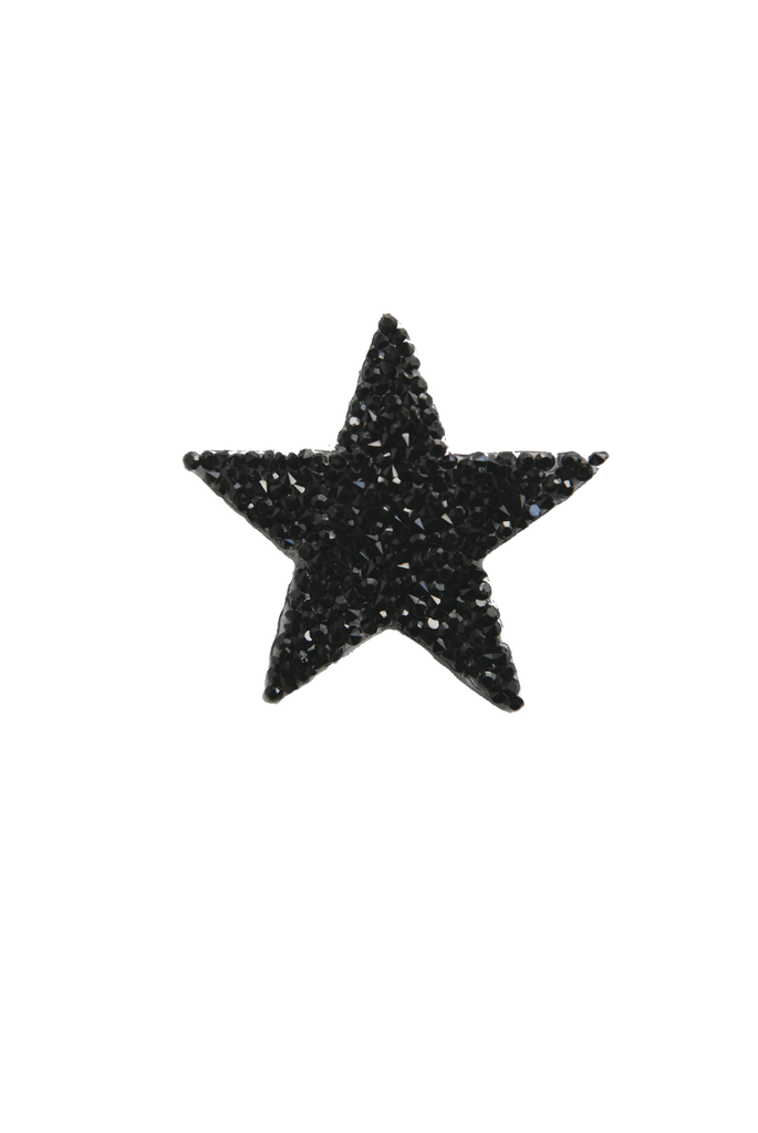 Rock Cystal Star - Black