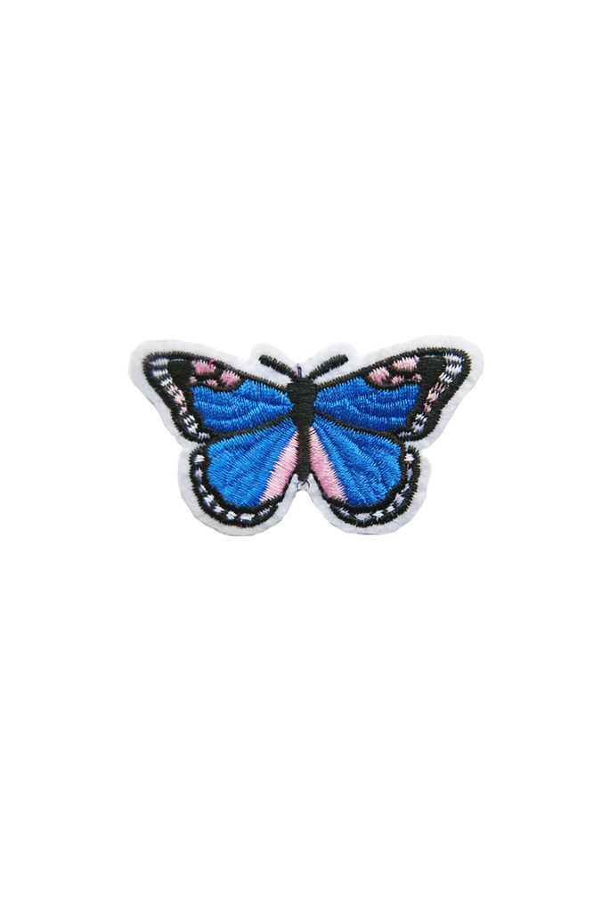Butterfly Patch- Blue