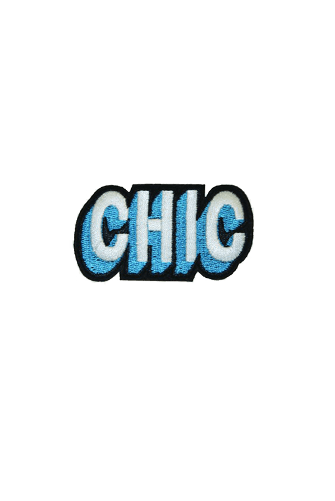 CHIC Patch Tag by me.n.u