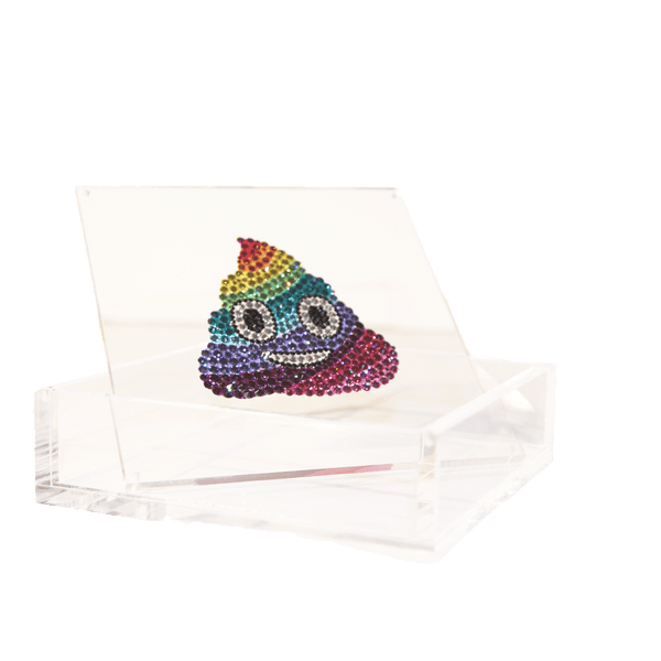 Rainbow Poop Emoji Box