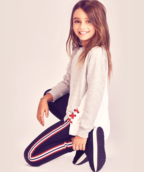 Athletic Stripe Legging