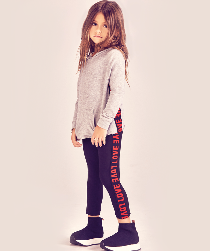 LOVE Legging - Little Girls