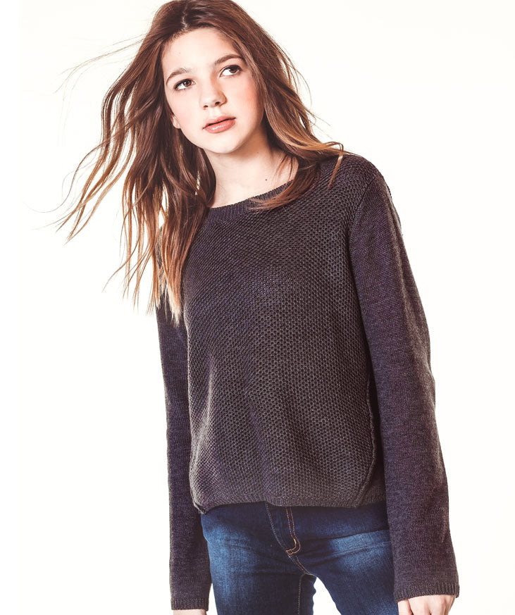 Forward Sweater- Charcoal