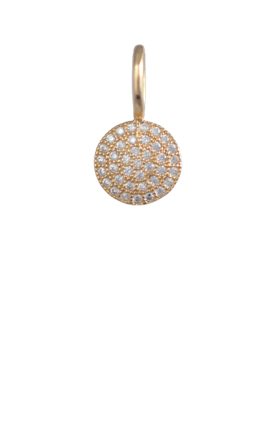 Crystal Gold Charm - Disc