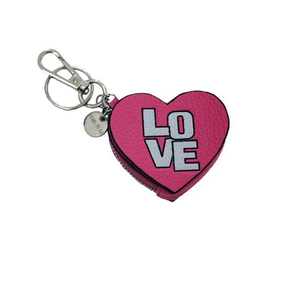 Love Keychain with Change Purse