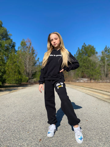 Life Is Good Sweatpant - Black