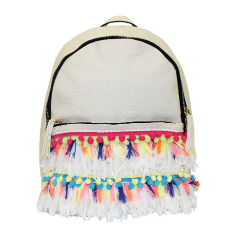 Tassel Fringe Backpack