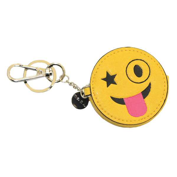 Emoji Keychain With Change Purse