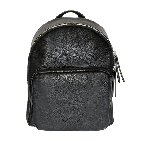 Skull Backpack, Black