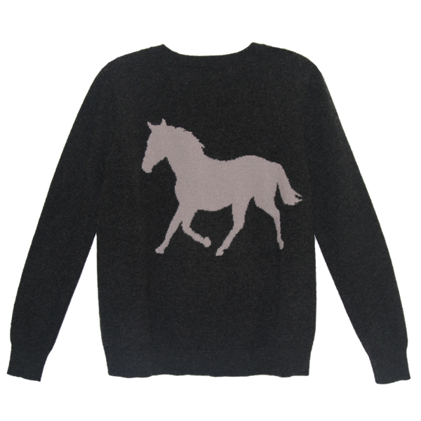 Horse Cashmere Sweater From me.n.u