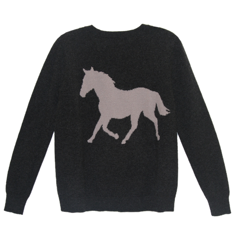 Horse Cashmere - Charcoal
