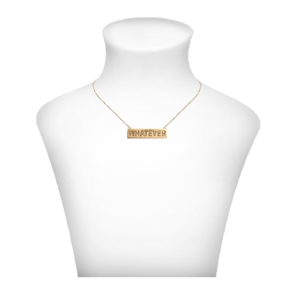 Crystal Whatever Necklace - Gold