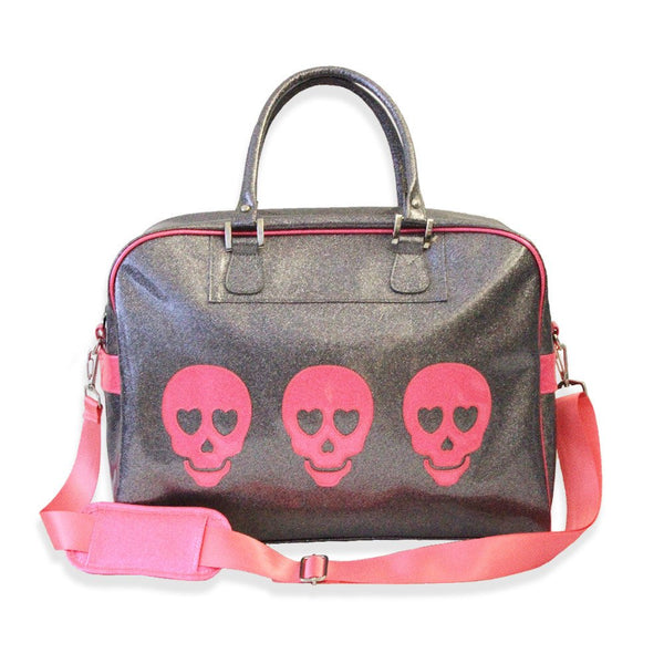 Triple Skull Overnight Bag