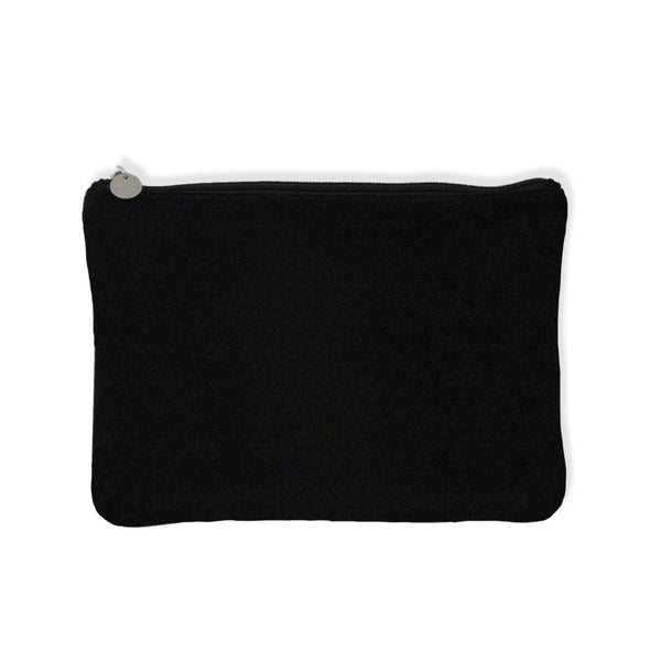 Suede Clutch - Black