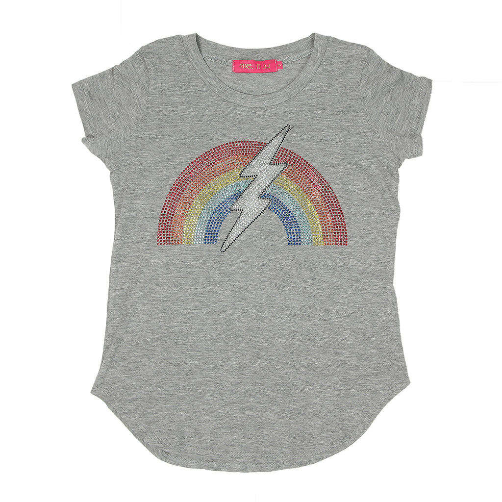 Rainbow Lighting Bolt Tee