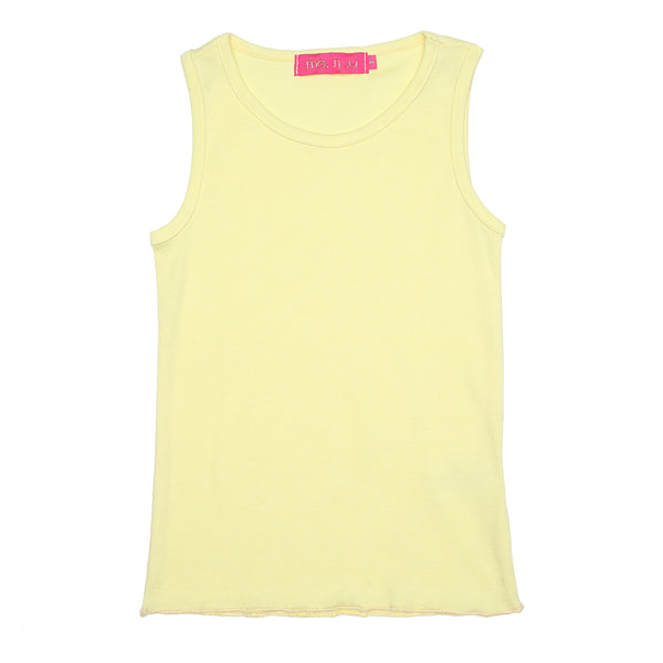 Lettuce Edge Tank - Yellow