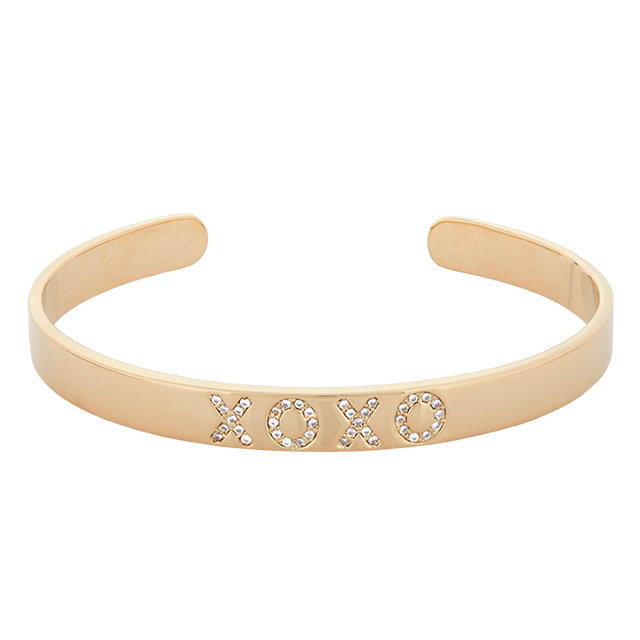 Mini Xoxo Bracelet - Gold