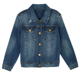 Rock Crystal Star Denim Jacket