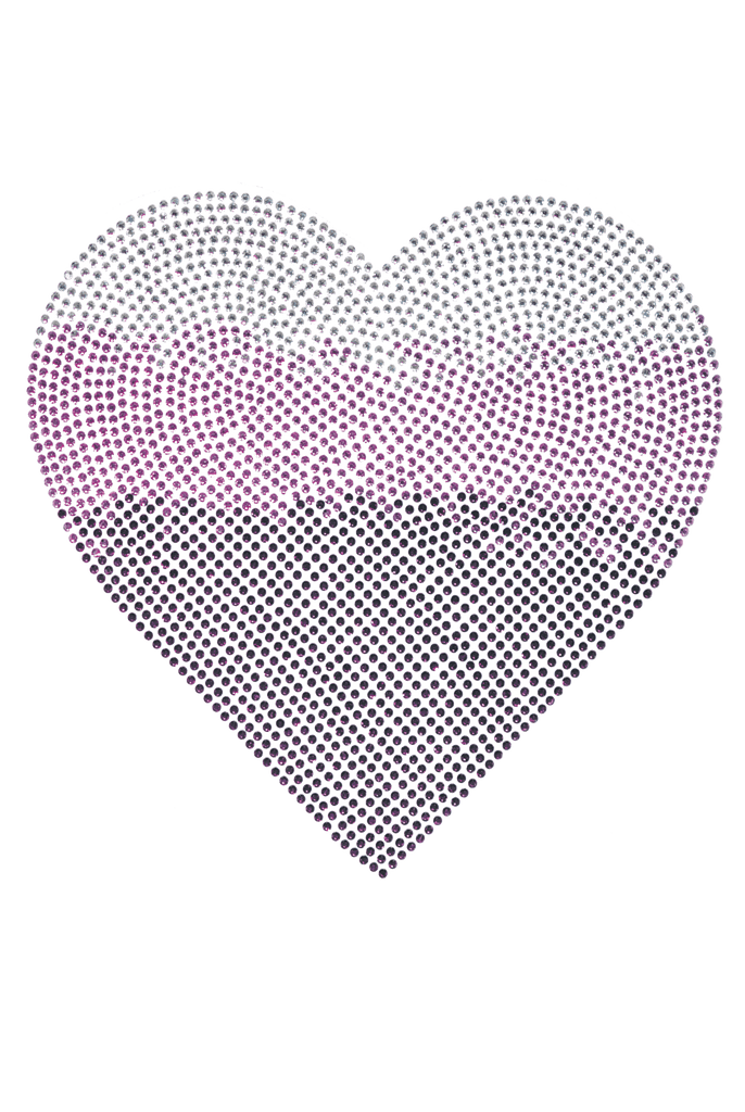 Ombre Heart Pink