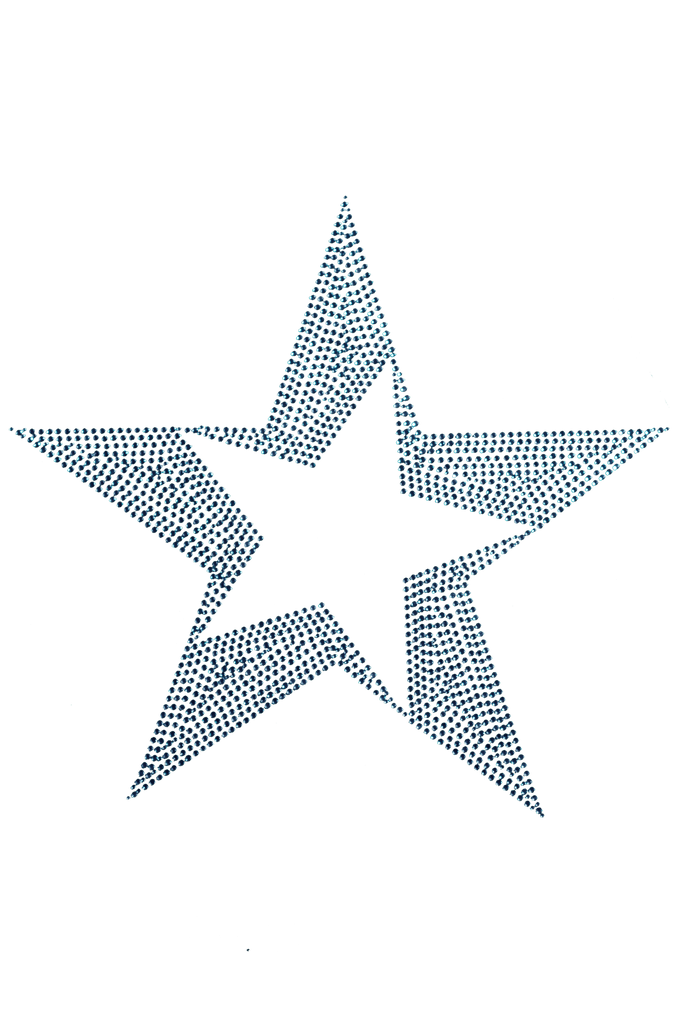 Open Star Blue