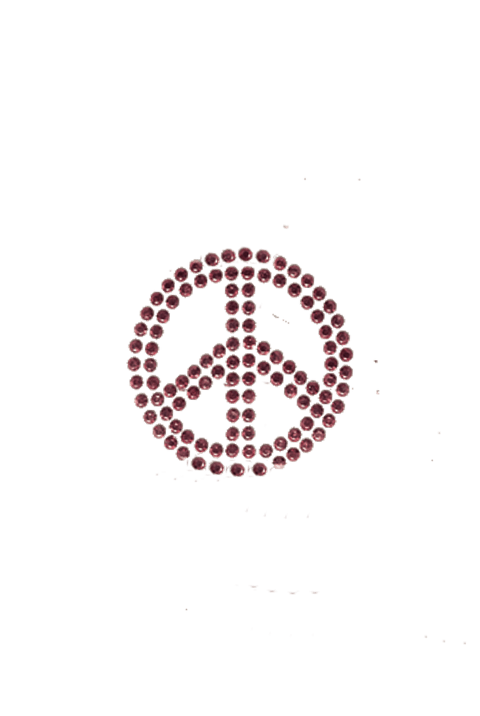 Peace Sign Pink - Small