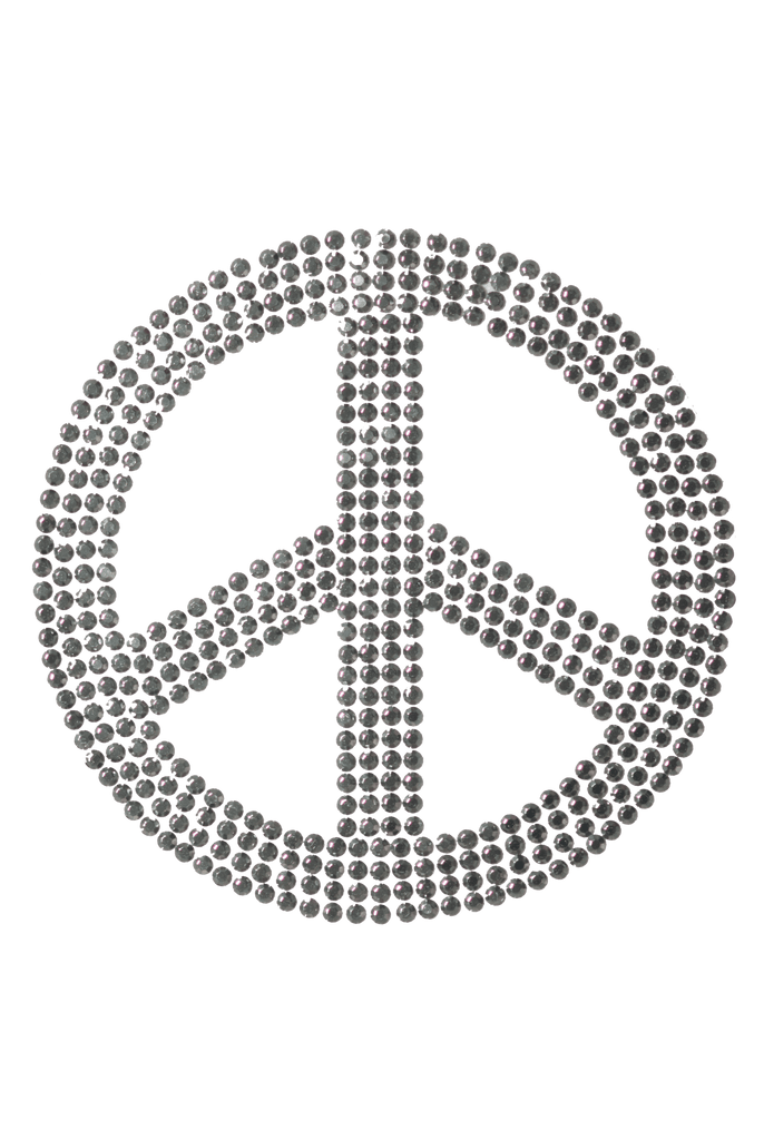 Peace Sign Silver - Large