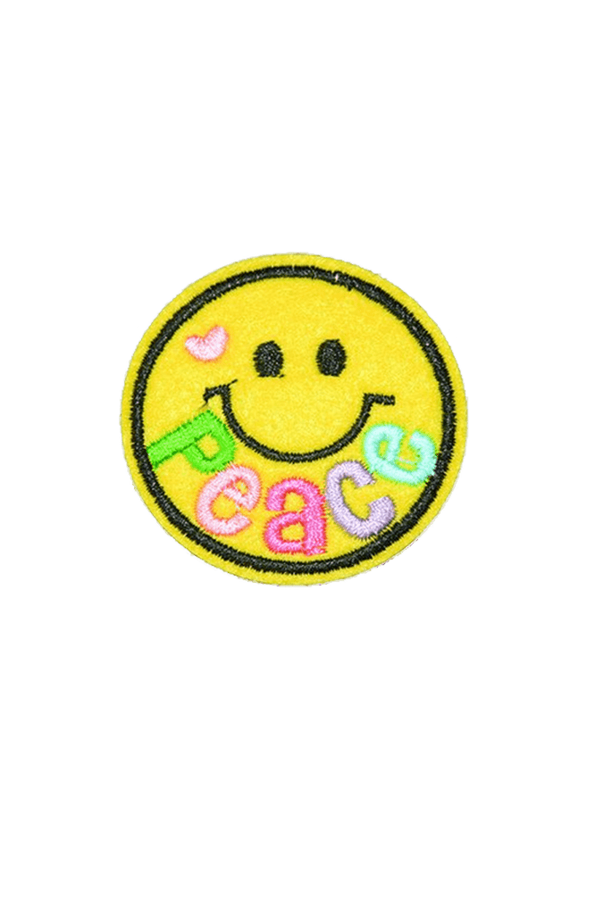 Peace Smiley Iron On patch_tag from me.n.u