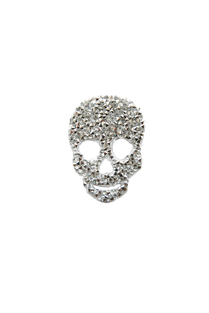 Rock Crystal Skull - Silver