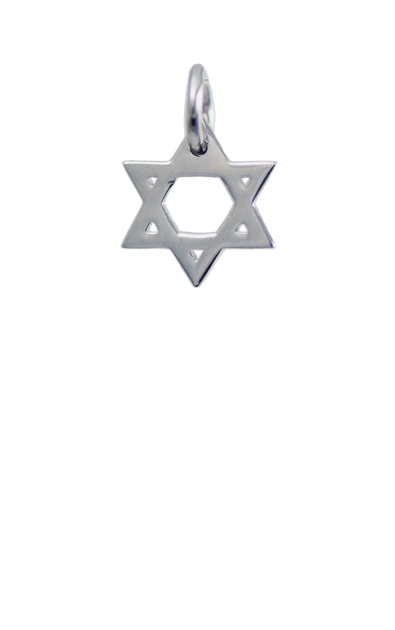 Silver Charm - Star of David