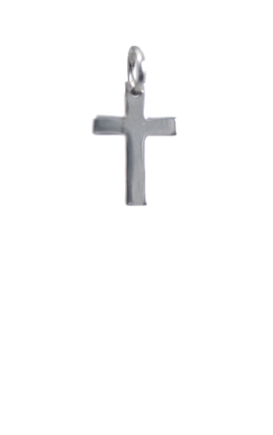 Cross Silver Charm from me.n.u