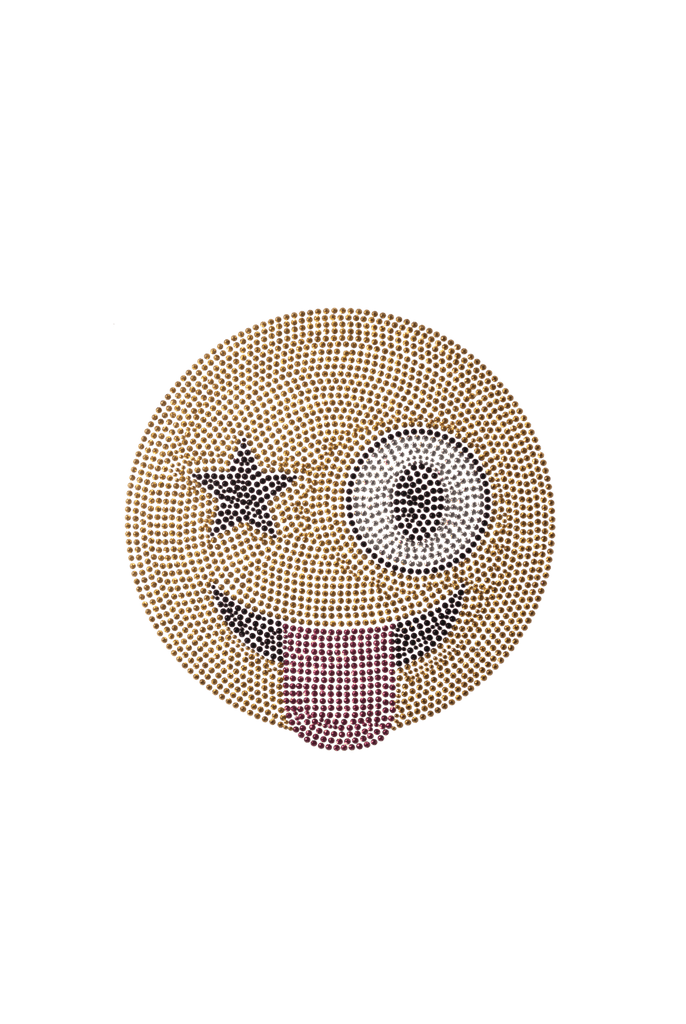 Star Eye Emoji - Medium