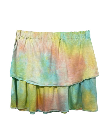 Tiered Skirt -Tie Dye